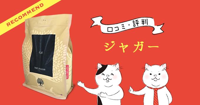 ジャガー(キャットフード)の原材料・評判・安全性を徹底調査【食レポあり】