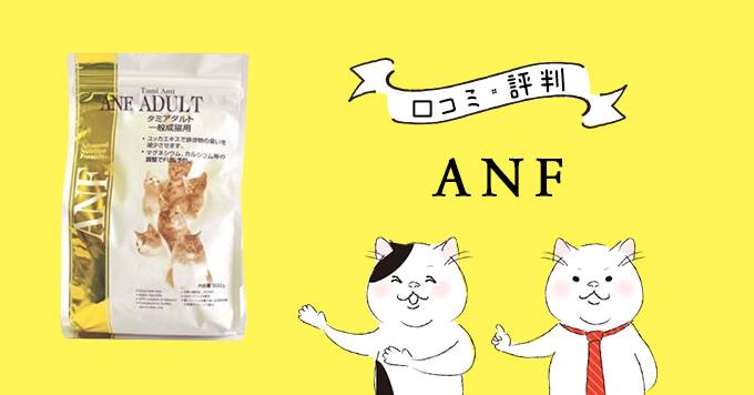 ANF キャットフードの原材料・評判・安全性を徹底調査