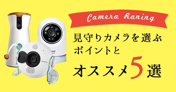 ペット見守りカメラを選ぶ5つのポイントとオススメ5選