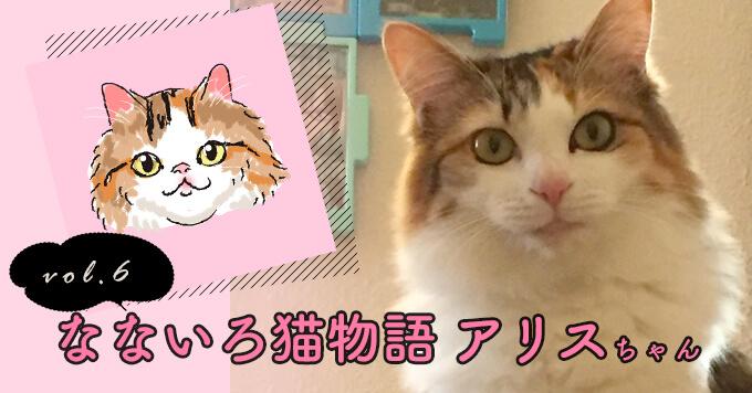 なないろ猫物語Vol.6|「アリス」ーただ元気でいてくれるだけで