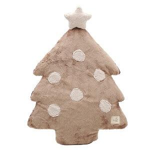 猫クリスマスツリークッション