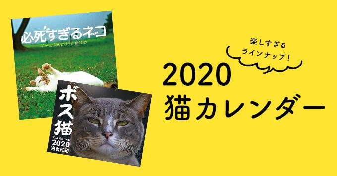 もう買った?2020猫カレンダーのおすすめはこれですよ~