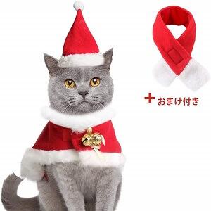おまけ付き猫サンタ服
