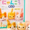 初心者&子供も作れる【猫の羊毛フエルトキット】たっぷりの絵本付き!