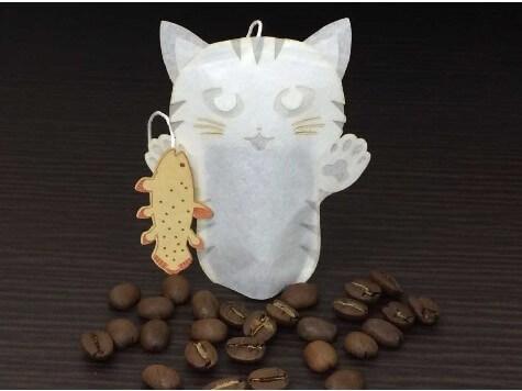 猫のティーバッグ