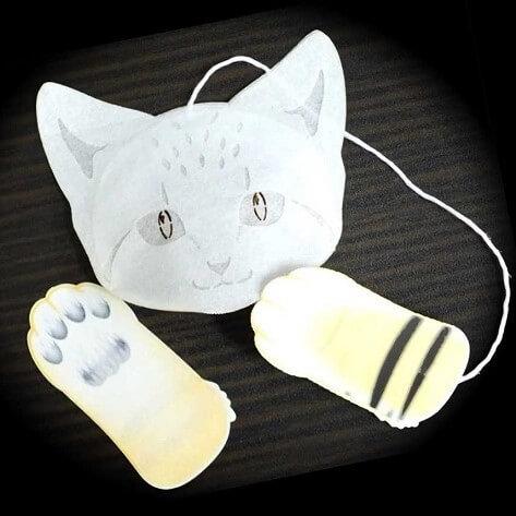 猫ティーバッグ