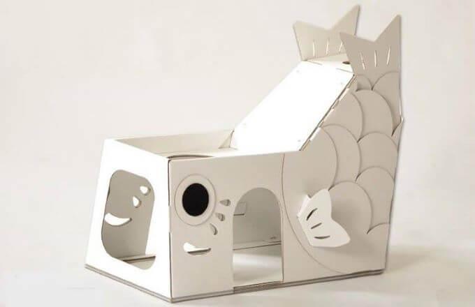 こいのぼり猫ハウス