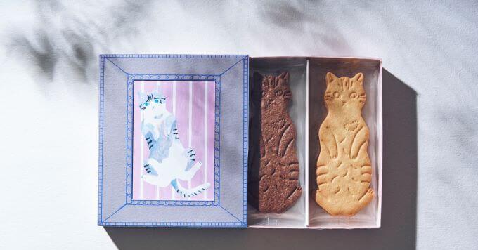 【猫のクッキー箱】食べた後も飾れる!サステナブルな大判クッキー箱新発売~