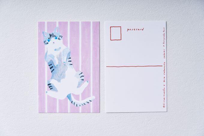 猫クッキー缶のポストカード