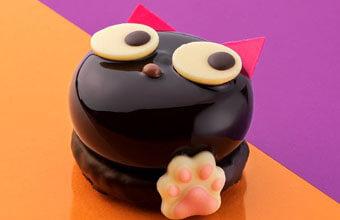 黒猫ケーキでおうちハロウィン!あの人気店が期間限定で「黒猫ショコラ」販売